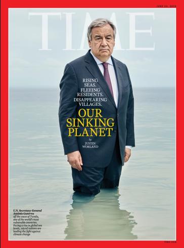 Antonio Guterres TIME